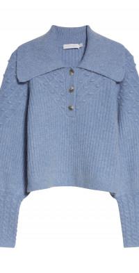 Jonathan Simkhai Jasmine Puff Sleeve Sweater