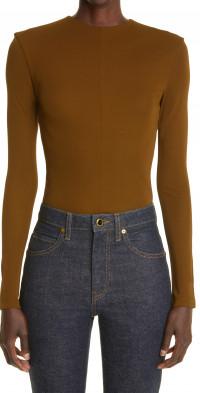 Khaite Janie Long Sleeve Bodysuit