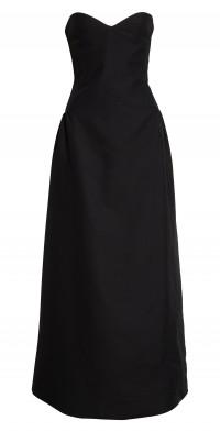 Khaite Prim Bustier Dress