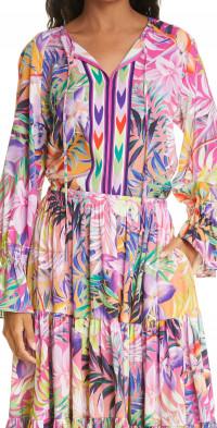 KOBI HALPERIN Emma Bell Sleeve Blouse