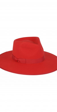 Lack of Color Ruby Rancher Wool Fedora
