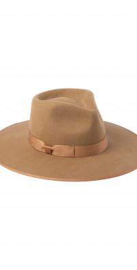 Lack of Color Teak Rancher Wool Fedora
