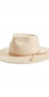 Lack Of Color Zulu Wool Fedora - White