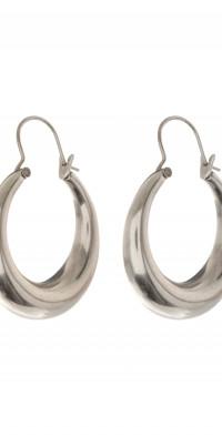 Women's Luv Aj Martina Tube Hoop Earrings