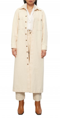 Mara Hoffman Charolette Long Sleeve Organic Cotton Shirtdress