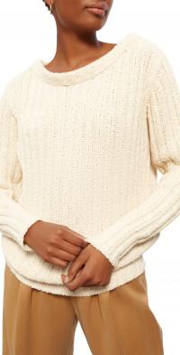 Mara Hoffman Marlena Convertible Neck Organic Cotton Sweater