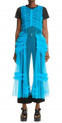 Women's Molly Goddard Napoli Sleeveless Tulle Dress