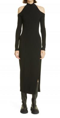 Women's Monse Cutout Detail Long Sleeve Sweater Dress
