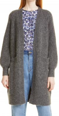 Women's Munthe Riga Wool & Alpaca Blend Cardigan