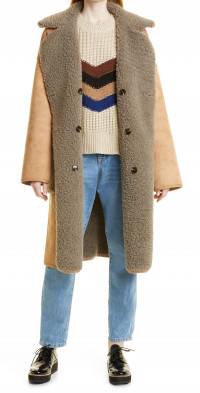 Women's Munthe Rylee Reversible Faux Shearling Coat