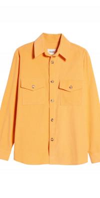 Nanushka Cale Cotton Button-Up Shirt