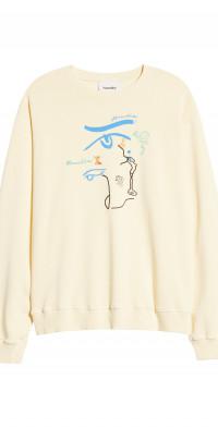 Nanushka Remy Organic Cotton Graphic Sweatshirt