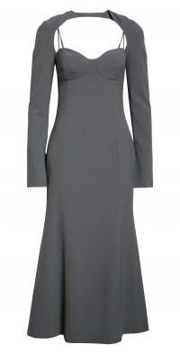 Nanushka Zabel Bustier Midi Dress