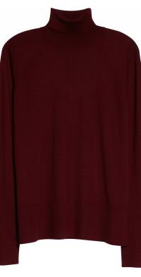 Peter Do Cooper Cashmere & Silk Blend Turtleneck Sweater