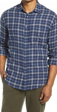 Rails Plaid Flannel Button-Up Shirt