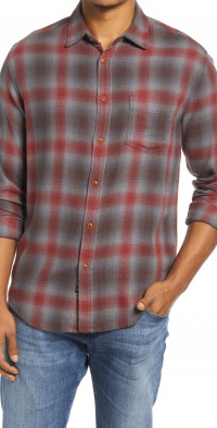 Rails Raven Button-Up Shirt