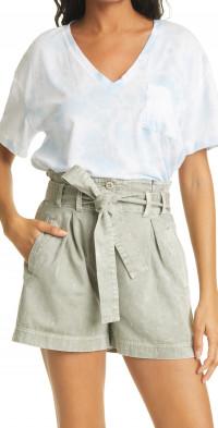 Rails The Pocket Tie-Dye V-Neck Cotton & Modal Top