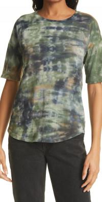 Raquel Allegra Tie-Dye Cotton T-Shirt
