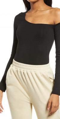 Women's Re Ona One-Shoulder Bodysuit