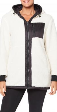 Sanctuary Hooded Reversible High Pile Fleece Jacket