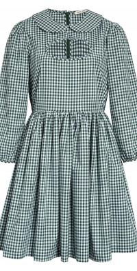 Women's Sandy Liang Gingham Keyhole Cotton Dress