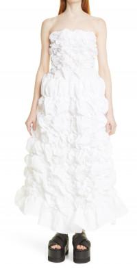 Shushu/Tong Folding Strapless Dress