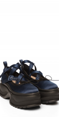 Simone Rocha Platform Ballerina Sneaker