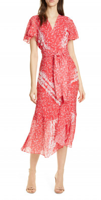 Tanya Taylor New Blaire Floral Silk & Cotton Dress