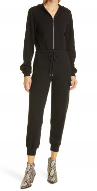The Range French Terry Hooded Jumpsuit