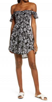 Women's Tiare Hawaii Hollie Off The Shoulder Cover-Up Dress