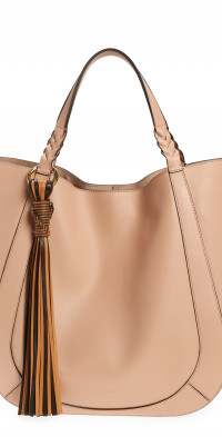 Ulla Johnson Albers Leather Tote in Rosedust at Nordstrom