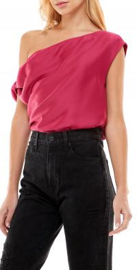 WAYF Keita One-Shoulder Top