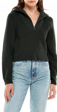 WAYF Nelle Half Zip Pullover