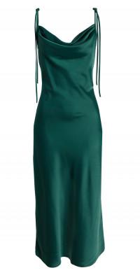 WAYF The Beverly Cowl Neck Midi Dress