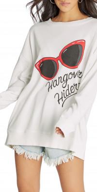 Wildfox Hangover Hiders Graphic Sweatshirt