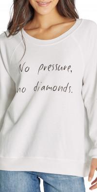 Wildfox Sommers No Pressure Graphic Sweatshirt