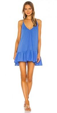 St. Tropez Ruffle Mini Dress