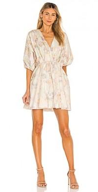 Bianca Dress inTurmeric Watercolor