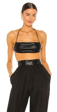 Mika Leather Top