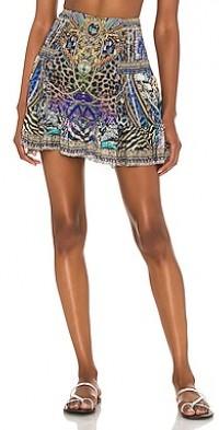 Button Down Frill Skirt