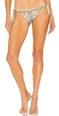 Ring Tie Side Bikini Bottom
