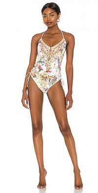 Ruched Side One Piece
