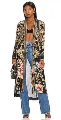 Side Split Layer Jacket