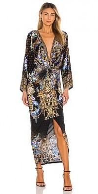 Split Front Twist Dress