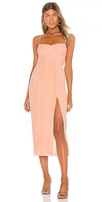 June Bustier Midi Dress