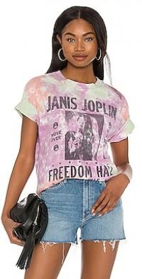 Janis Joplin Freedom Hall Weekend Tee