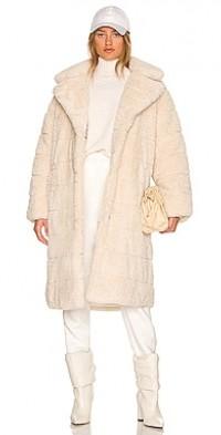 Alexander Faux Fur Puffer Coat