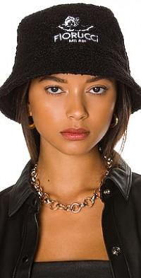 Milan Angels Faux Fur Bucket Hat