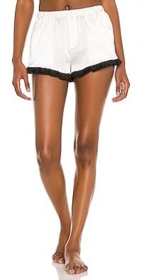 Washable Silk Ruffle Shorts