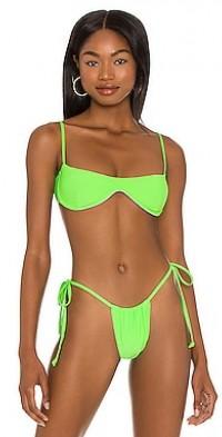 Tolly Ribbed Bikini Top